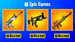 *NEW* WEAPON SKINS *CONFIRMED* In Fortnite! How To Get / Use Gun Camos (RELEASE DATE Coming Soon)