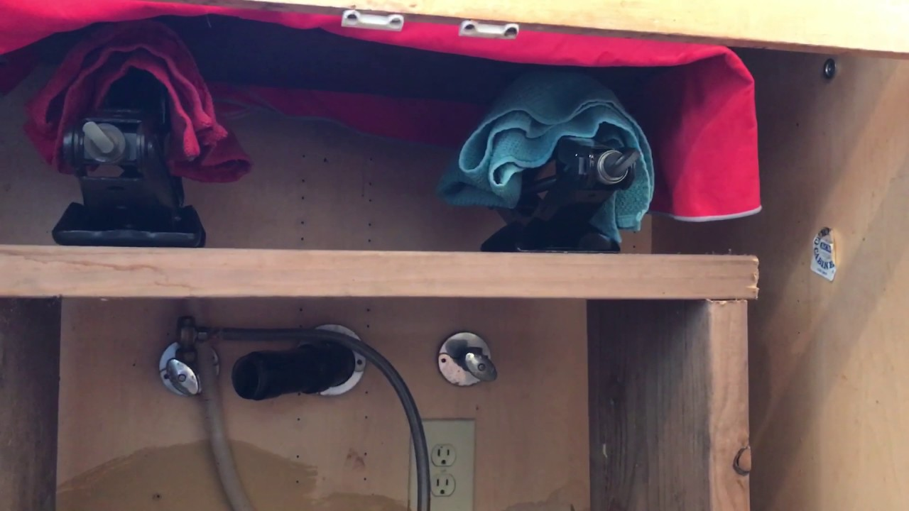 cast iron kitchen sinks temporary how to install a sink youtube