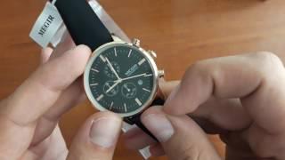 Обзор и настройка. Мужские наручные часы Megir Elite 2011 с хронографом