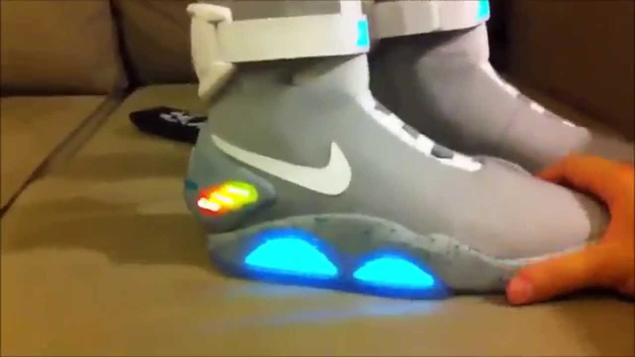 Authentic 2011 Nike Mag back to the future