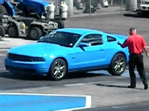 2012 grabber blue mustang gt 5 0 1 4 mile 5800ft. Black Bedroom Furniture Sets. Home Design Ideas
