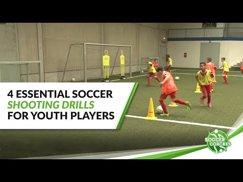 4 Essential Soccer Shooting Drills For Youth Players | Finishing In Soccer