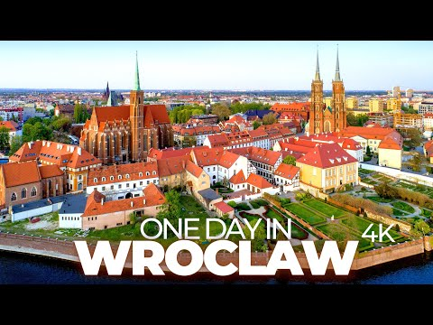 ONE DAY IN WROCLAW (POLAND) | 4K UHD | Time-Lapse-Tour Through A Charming And Colourful City!