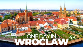 ONE DAY IN WROCLAW (POLAND)  4K UHD  Time-Lapse-Tour through a charming and colourful city