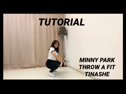 Minny Park - Throw A Fit (Tinashe) Mirrored Tutorial | Ayie Garcia