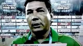México vs Inglaterra {2-3} Copa mundial  Sub-17