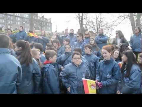 JOC, desfile en Festival Internacional de Harrogate UK