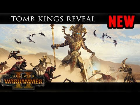 Total War: Warhammer 2 - The Tomb Kings Reveal Trailer (Faction Mechanics)