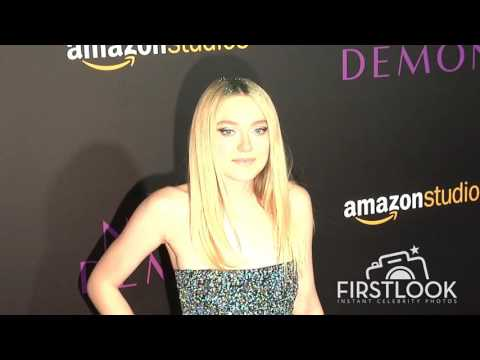 Dakota Fanning at The Neon Demon Los Angeles premiere