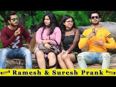 5 Star Ramesh & Suresh Prank On Girls || Prank In India 2019 || Funday Pranks