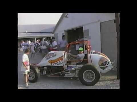 In 1990 my father and I packed up the family camper and went on Ohio Speedweek. Here are some select clips from the first time Attica Raceway Park hosted ... - dirt track racing video image