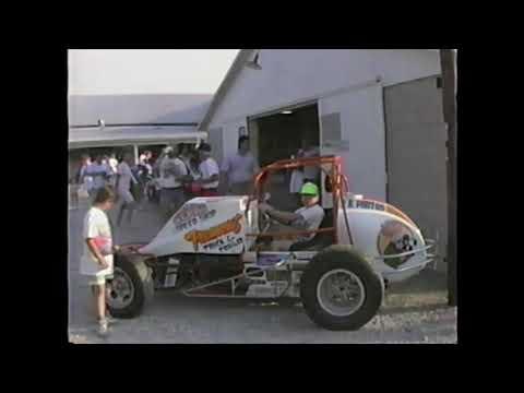 1990 Ohio Sprint Speedweek at Attica Raceway Park