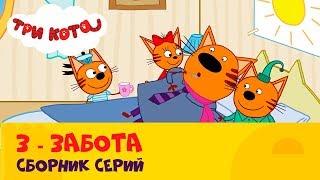 Три кота | Как важно помогать друг другу | Сборник от СТС Kids