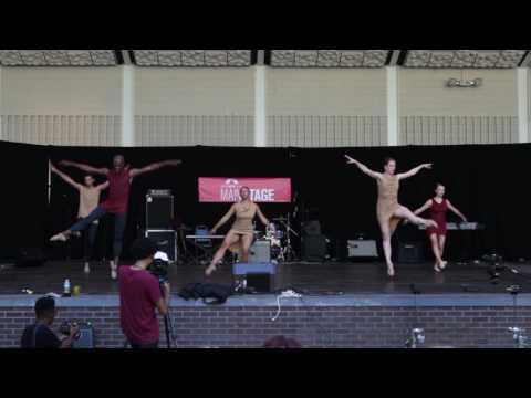 VISIONS Contemporary Ballet at Harlem Arts Festival June 25, 2017 NYC
