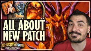 THIS PATCH IN ONE GAME! - Hearthstone Battlegrounds