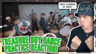 FIRST TIME REACTING TO TREASURE - 'BOY' DANCE PRACTICE VIDEO![REACTION]