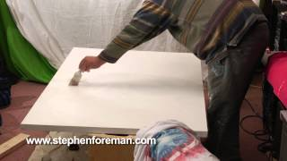 Learn How Gesso And Prime Large Canvas Painting