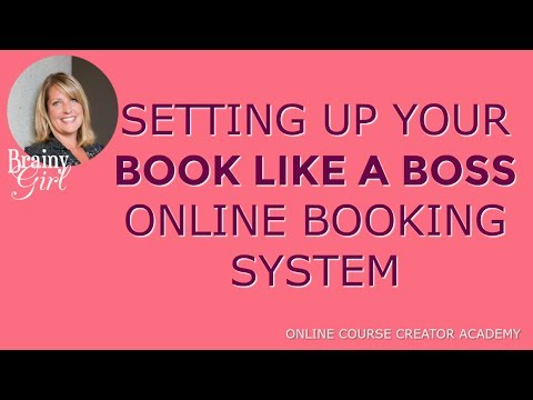 Setting up 'Book Like a Boss' Online Booking System [tutorial]