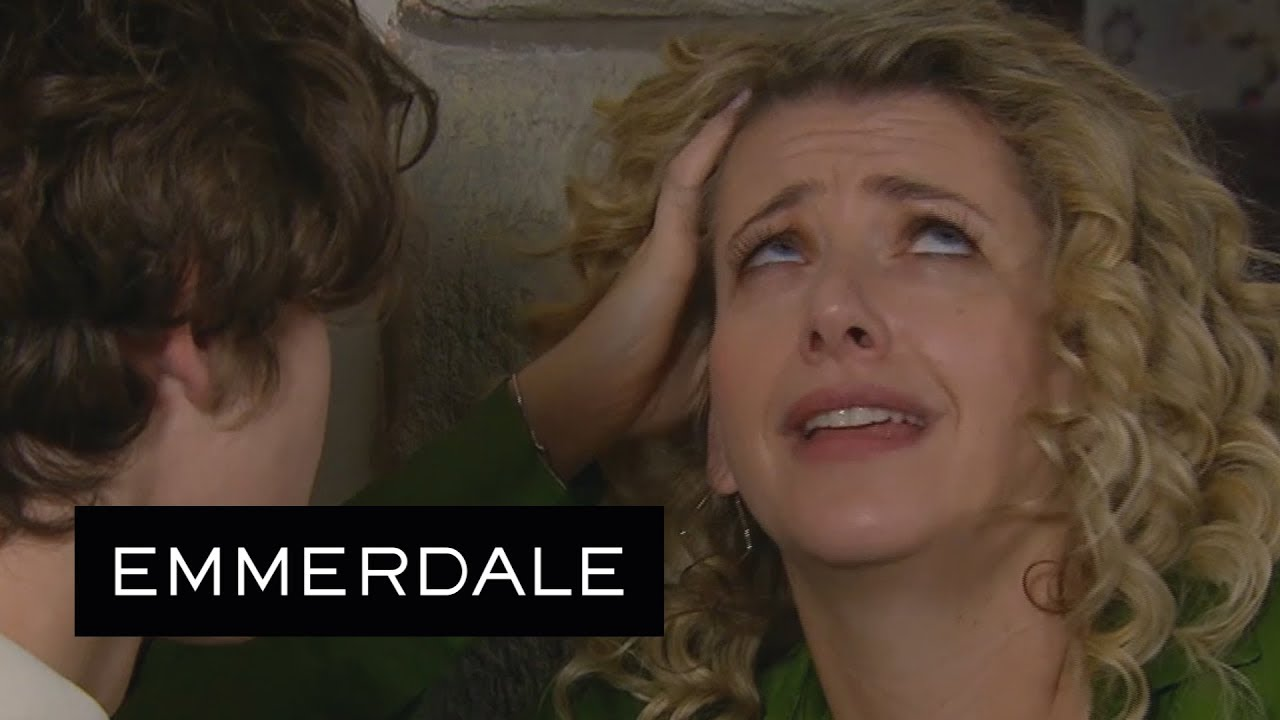 Emmerdale - Maya Makes a Dirty Joke About Jacob to Tracy's Face