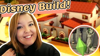 HERCULES Ancient Greek INSPIRED Build??! | The Sims 4 DISNEY BUILDS!