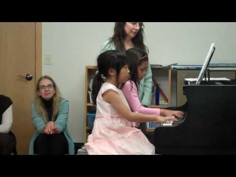 Erica piano duet - Cotton candy machine