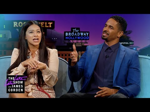 Gina Rodriguez & Damon Wayans Jr. Had Loving Family Bullies