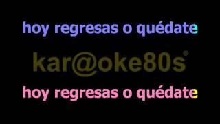 karaoke Entre tú y Mil Mares estilo L.Pausini & Melendi
