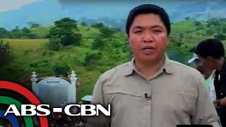 Jorge Carino live at Maguindanao massacre site - ANC Dateline Phils - Nov 23 2010.