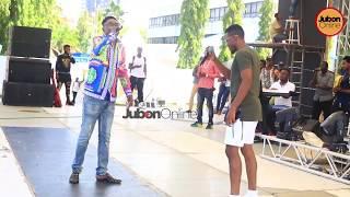 Full Video:ALIKIBA &CHRISTIAN BELLA walivyokutana kutest Mitambo Ya Fiesta/NI BALAA!!Tazama Hapa!!