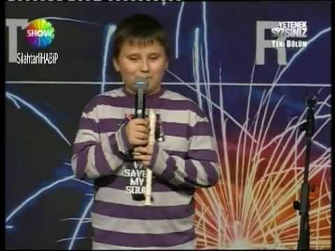 Recorder beatbox (turkish got talent) amazing!!
