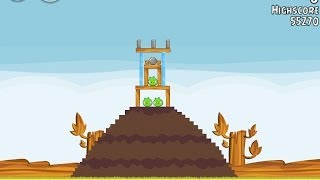 Angry Birds Level 1 Power Up University Super Seeds Walkthrough 3 Star
