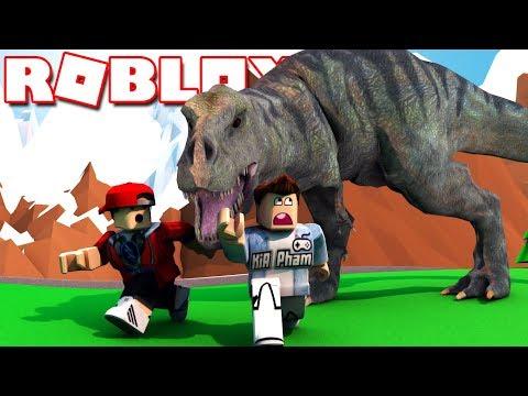 Roblox | BIỆT ĐỘI SĂN KHỦNG LONG BẠO CHÚA T-REX - Dinosaur Hunter | KiA Phạm