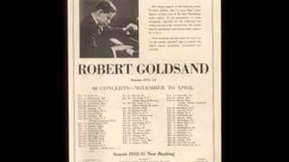 Robert Goldsand plays Chopin 12 Etudes Op. 10