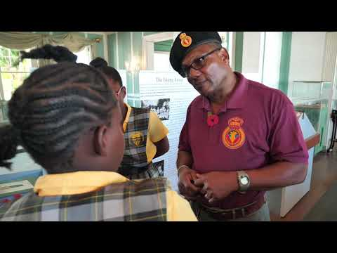 "War ""The Exhibition"" @Government House Antigua & Barbuda"