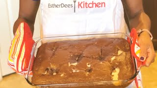 Delicious Earthquake Cake! I EstherDees Kitchen