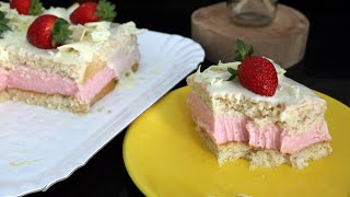 TRUFFLED STRAWBERRY CAKE | FLOUR FLOWER
