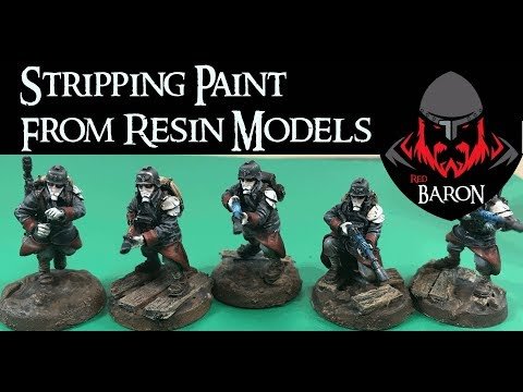 Stripping Resin Miniatures With Simple Green