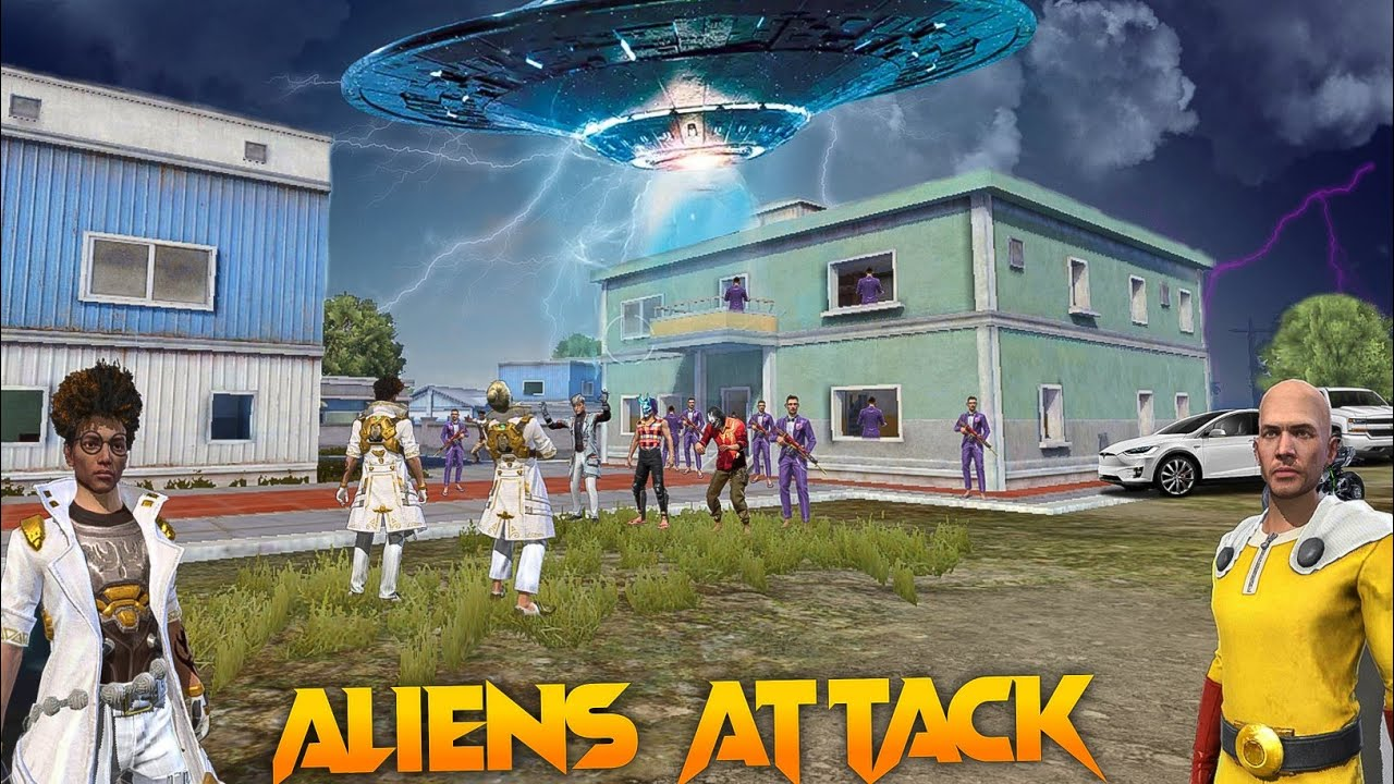 Aliens Attack 👽 [एलियंस अटैक] Free Fire Story in Hindi    Free Fire Story