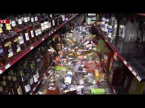Car crashes into liquor store in Murray Hill area
