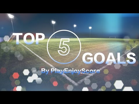 PES 2017 TOP 5 GOALS OF THE WEEK #3 By PlayEnjoyScore (PRO EVOLUTION SOCCER 2017 PS4)