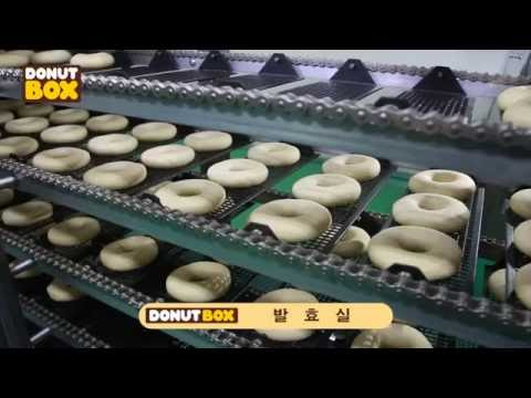 Fully automatic yeast donuts machine(English subtitles available)