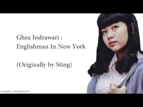 Ghea Indrawari - Englishman In New York / Lyrics (From Indonesian Idol 2018)