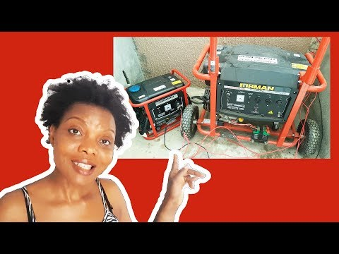 Buying a Power Generator for my Nigerian Kitchen