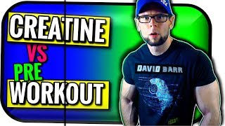 Creatine or Pre Workout Supplements | What's Better for Fat Loss and Muscle Gain?