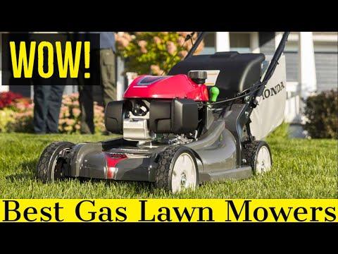 Best Gas Lawn Mower in 2021 (Cheap & Self Propelled)