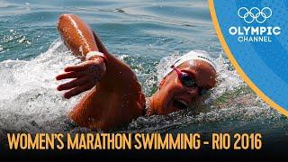 Women's 10km Marathon Swimming   Rio 2016 Replays