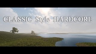 7DaysToDie. Classic Style Hardcore. Часть 105. Лагерь и много ткани [20180614]