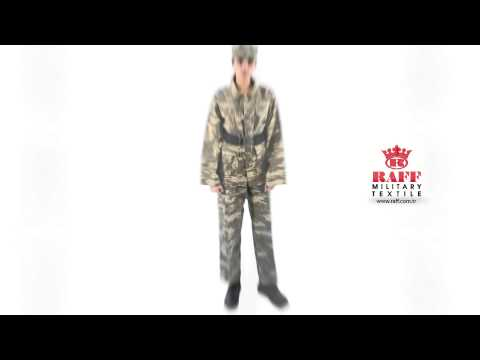 Raff Military Textile  -  Military Camouflage -  Camouflage Uniform -