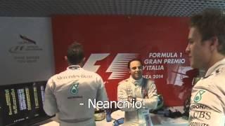 Hd Nico Rosberg Full Funny Scene Monza 2014 Youtube
