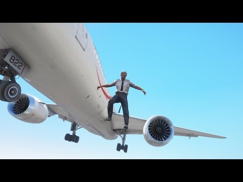 Pilot Jumps Out Of Boeing 787 Dreamliner | GTA 5